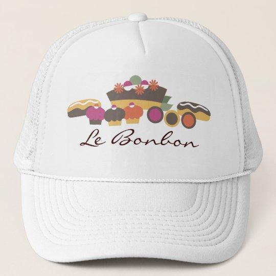 Bakery sweets cake cupcakes eclairs cookies kit... trucker hat