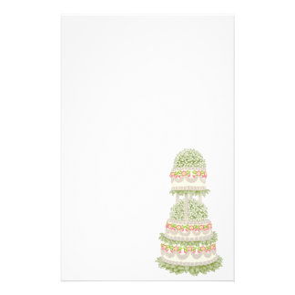 Bakery Wedding Cake Stationery