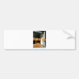 Bakery Window Bumper Sticker