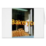 Bakery Window Greeting Card