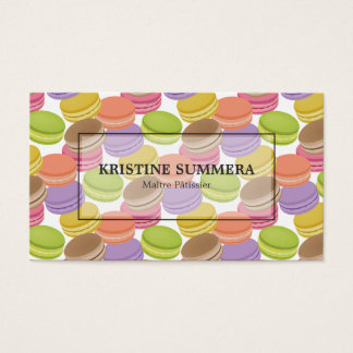 Bakeshop Pastry Shop Chef Consultant Business Card