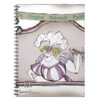 Bakewell Pudding, tony fernandes.tif Notebook