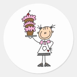 Baking A Cake Sticker