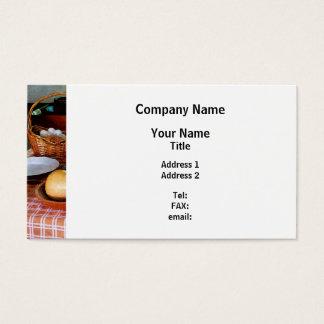 Baking a Squash and Pumpkin Pie Business Card