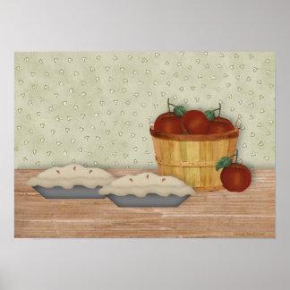 Baking Apple Pie Print