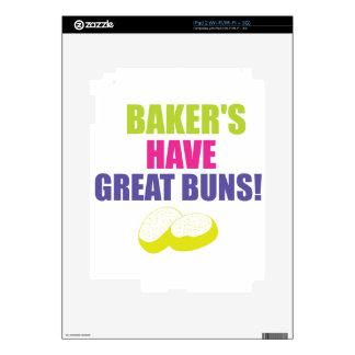 Baking - Bakers Have Good Buns iPad 2 Skins