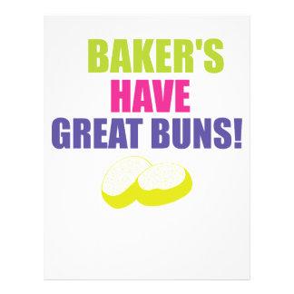 Baking - Bakers Have Good Buns Letterhead
