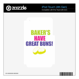 Baking - Bakers Have Good Buns Skin For iPod Touch 4G