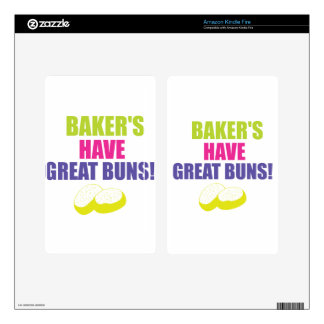 Baking - Bakers Have Good Buns Skin For Kindle Fire