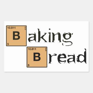 Baking Bread B Rectangular Sticker