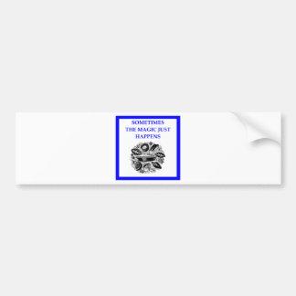 baking bumper sticker