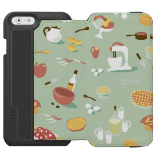 Baking Cake and Pies in the Kitchen Incipio Watson™ iPhone 6 Wallet Case