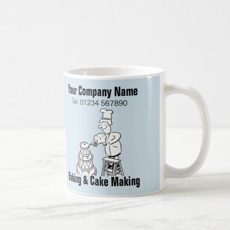 Baking & Cake Making Cartoon Mug