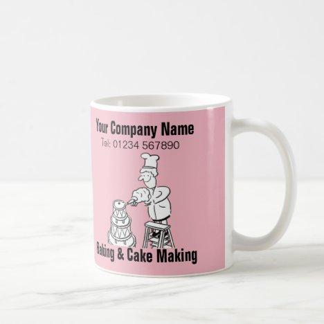 Baking & Cake Making Cartoon Mug