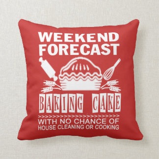BAKING CAKE THROW PILLOW