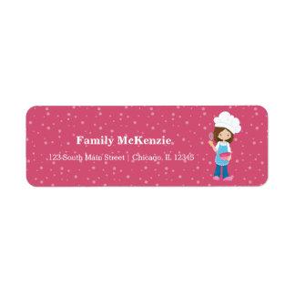 Baking * choose your background color label