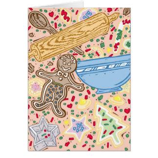 Baking Collage Greeting Card
