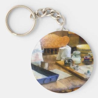 Baking Cookies Basic Round Button Keychain