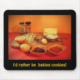 Baking Cookies Mouse Pad