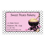 Baking Cookies Polka Dots Double-Sided Standard Business Cards (Pack Of 100)