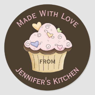 Baking Cupcake Custom Sticker
