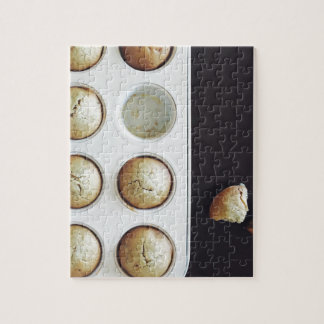 Baking Cupcakes - Sweet Bakery Print Jigsaw Puzzle