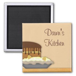 Baking  Custom Kitchen Magnet