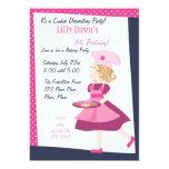 Baking Cutie 5x7 Paper Invitation Card