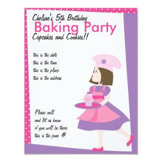 Baking Cutie-Purple Card