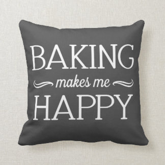 Baking Happy Pillow - Assorted Styles & Colors