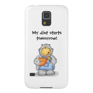 Baking Hippo eating dough- My diet starts tomorrow Galaxy Nexus Cover