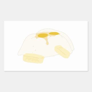 Baking Ingredients Rectangular Sticker