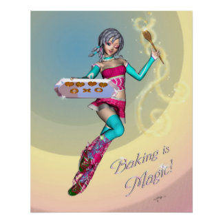 Baking is Magic! Poster