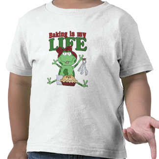 Baking Is My Life T-shirt