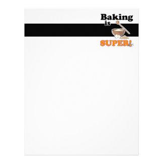 baking is super letterhead
