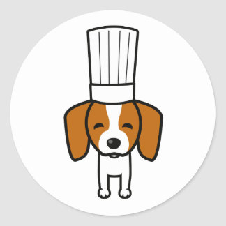 Baking Labels for Pet Dog Bakery Baking Goods Classic Round Sticker