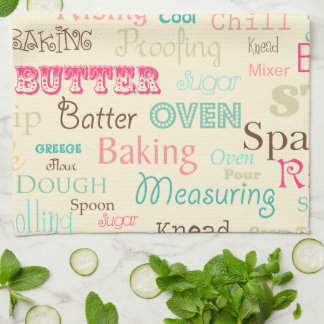 Baking Lingo Tea Towel