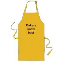 baking long apron