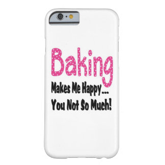 Baking Makes Me Happy iPhone 6 Case