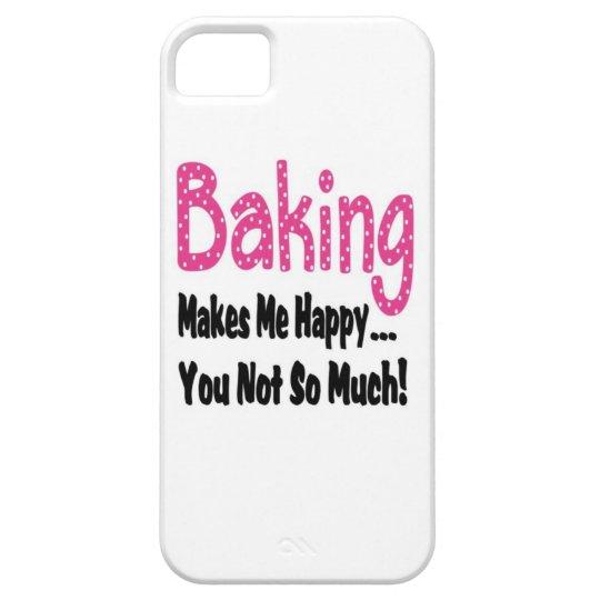 Baking Makes Me Happy iPhone SE/5/5s Case