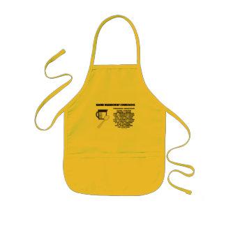 Baking Measurement Conversions (Measure) Kids' Apron