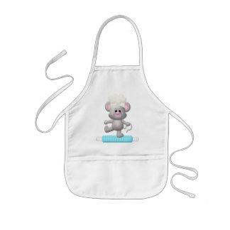Baking Mouse kids apron