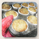 Baking Muffins or Cupcakes Drink Coaster