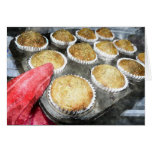 Baking Muffins or Cupcakes Greeting Card