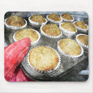 Baking Muffins or Cupcakes Mouse Pad