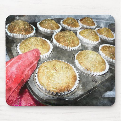 Baking Muffins or Cupcakes Mousepad