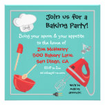 Baking or Cooking Party Invitation Card