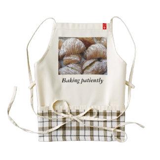 Baking Patiently Zazzle HEART Apron
