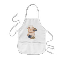 Baking Pig Apron kids