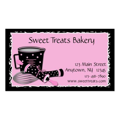 Baking Polka Dots Business Card Templates